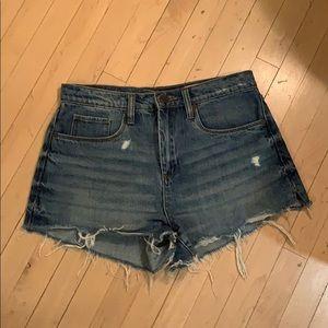 NWOT BlankNYC pin up hug rise denim shorts